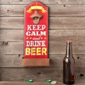 "Abridor de botellas de pared ""Keep calm"""