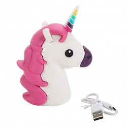 Power Bank Unicornio 1200 mía en caja de regalo